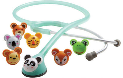 American Diagnostic Corporation ADC 618 Series Adimals® Seafoam Platinum Pediatric Stethoscope