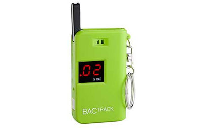 BACtrack Green Keychain Ultra-Portable Breathalyzer
