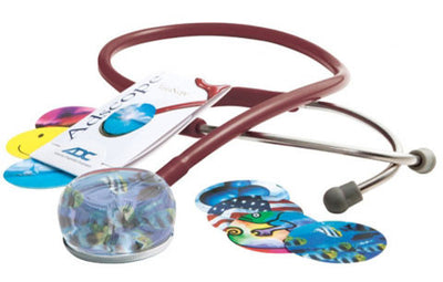 American Diagnostic Corporation ADC 655 Series Vistascope™ Burgandy Acrylic Clinician Stethoscope