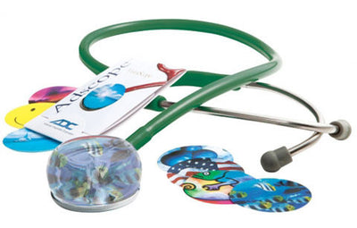 American Diagnostic Corporation ADC 655 Series Vistascope™ Dark Green Acrylic Clinician Stethoscope