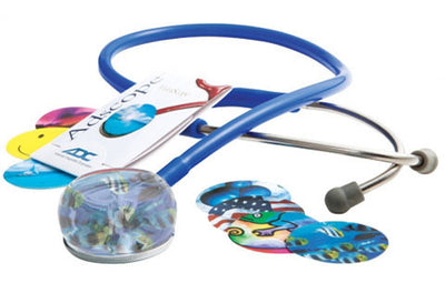 American Diagnostic Corporation ADC 655 Series Vistascope™ Royal Blue Acrylic Clinician Stethoscope