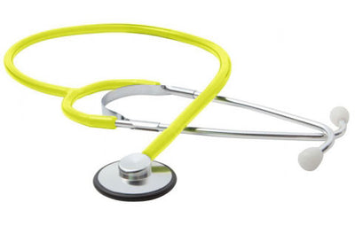 American Diagnostic Corporation ADC 660 Series Proscope SPU™ Neon Yellow Single Head Stethoscope