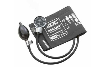 700 Adult (23-40 cm) Gray Pocket Aneroid Sphygmomanometer by American Diagnostic ADC