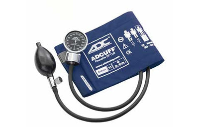 Adult (23-40cm) Navy Pocket Aneroid Sphygmomanometer by American Diagnostic ADC