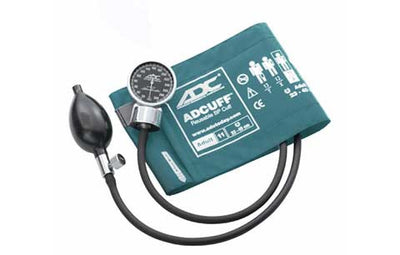 Adult (23-40cm) Teal Pocket Aneroid Sphygmomanometer by American Diagnostic ADC
