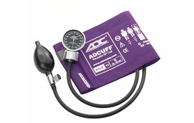 Adult (23-40cm) Purple Pocket Aneroid Sphygmomanometer by American Diagnostic ADC