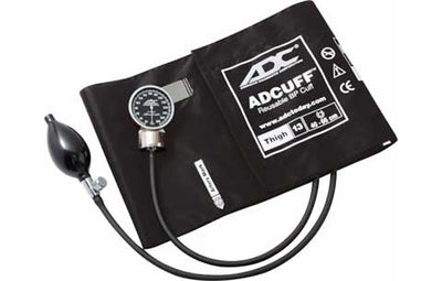 Thigh (40-66cm) Black Pocket Aneroid Sphygmomanometer by American Diagnostic ADC