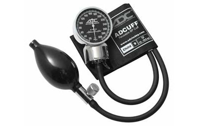 Child (13-19.5cm) Black Pocket Aneroid Sphygmomanometer by American Diagnostic ADC