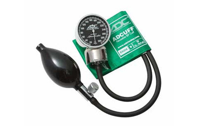 Child (13-19.5cm) Green Pocket Aneroid Sphygmomanometer by American Diagnostic ADC