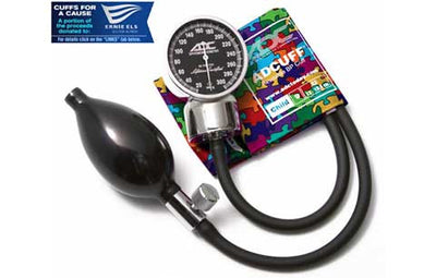 Child (13-19.5cm) Puzzle Pieces Pocket Aneroid Sphygmomanometer by American Diagnostic ADC