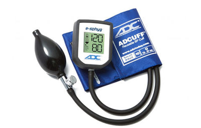American Diagnostic Corporation ADC E-sphyg Small Adult Size Royal Blue Digital Pocket Aneroid Sphyg