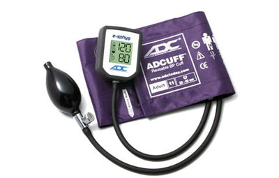 American Diagnostic Corporation ADC E-sphyg Adult Size Purple Digital Pocket Aneroid Sphyg