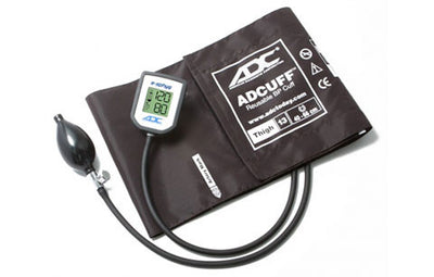 American Diagnostic Corporation ADC E-sphyg Thigh Size Brown Digital Pocket Aneroid Sphyg