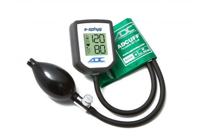 American Diagnostic Corporation ADC E-sphyg Child Size Green Digital Pocket Aneroid Sphyg
