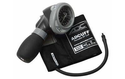 Diagnostix 703 Series Small Adult Size Black Palm Aneroid Sphyg by American Diagnostic ADC