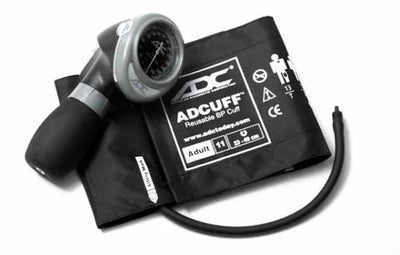 Diagnostix 703 Series Adult Size Black Palm Aneroid Sphyg by American Diagnostic ADC