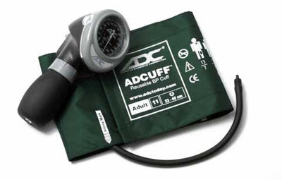 Diagnostix 703 Series Adult Size Dark Green Palm Aneroid Sphyg by American Diagnostic ADC