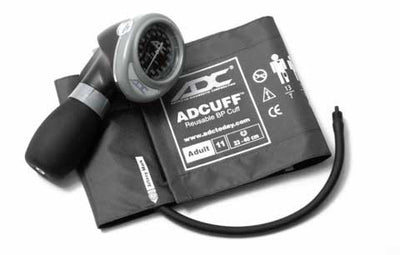 Diagnostix 703 Series Adult Size Gray Palm Aneroid Sphyg by American Diagnostic ADC