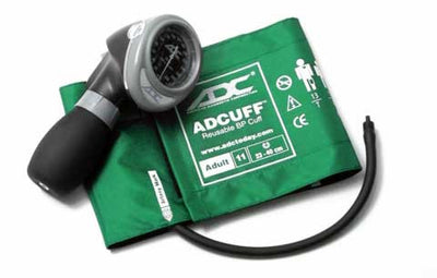 Diagnostix 703 Series Adult Size Green Palm Aneroid Sphyg by American Diagnostic ADC