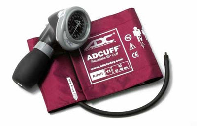 Diagnostix 703 Series Adult Size Magenta Palm Aneroid Sphyg by American Diagnostic ADC