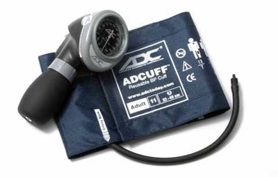 Diagnostix 703 Series Adult Size Navy Palm Aneroid Sphyg by American Diagnostic ADC