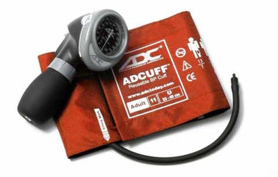 Diagnostix 703 Series Adult Size Orange Palm Aneroid Sphyg by American Diagnostic ADC