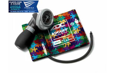 Diagnostix 703 Series Adult Size Puzzle Pieces Palm Aneroid Sphyg by American Diagnostic ADC
