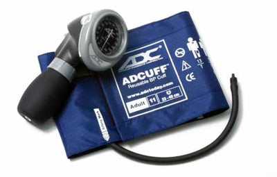 Diagnostix 703 Series Adult Size Royal Blue Palm Aneroid Sphyg by American Diagnostic ADC