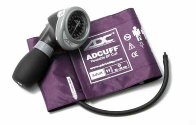 Diagnostix 703 Series Adult Size Purple Palm Aneroid Sphyg by American Diagnostic ADC