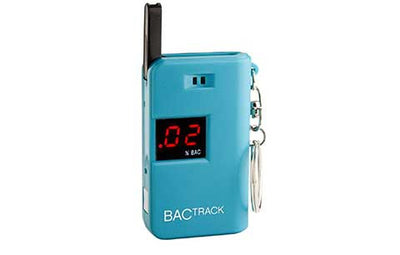 BACtrack Blue Keychain Ultra-Portable Breathalyzer