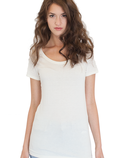 Organic Bamboo Scoop Neck Top