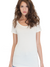 Women's Viscose Bamboo Organic Scoop Neck