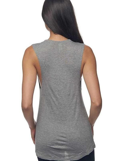 Organic Bamboo Muscle Tee for Women