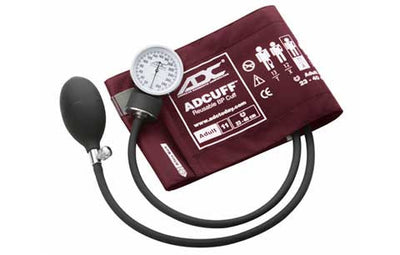 Prosphyg Adult Size Burgandy Pocket Aneroid sphyg by American Diagnostic Corporation ADC