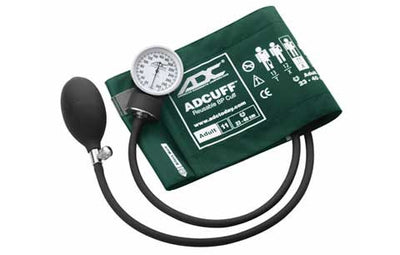 Prosphyg Adult Size Dark Green Pocket Aneroid sphyg by American Diagnostic Corporation ADC