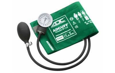 Prosphyg Adult Size Green Pocket Aneroid Sphygmomanometer by American Diagnostic Corporation ADC