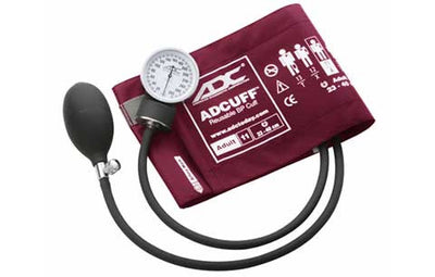 Prosphyg Adult Size Magenta Pocket Aneroid Sphygmomanometer by American Diagnostic Corporation ADC