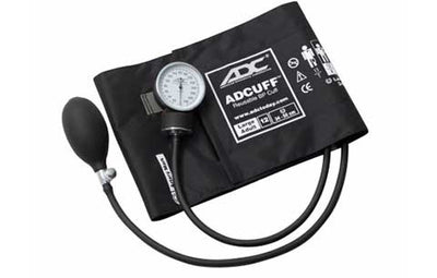Prosphyg Large Adult Size Black Pocket Aneroid sphyg by American Diagnostic Corporation ADC