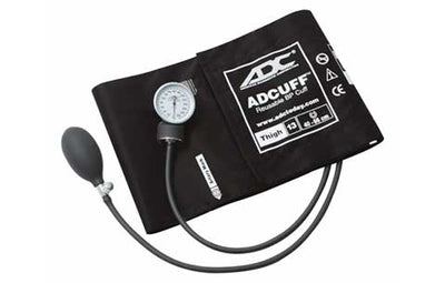 Prosphyg Thigh Size Black Pocket Aneroid Sphygmomanometer by American Diagnostic Corporation ADC