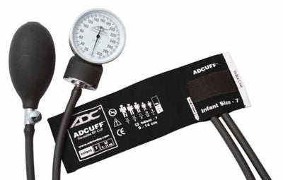 Prosphyg Infant Size Black Pocket Aneroid Sphygmomanometer by American Diagnostic Corporation ADC