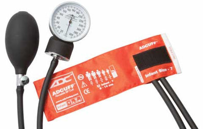 Prosphyg Infant Size Orange Pocket Aneroid Sphygmomanometer by American Diagnostic Corporation ADC