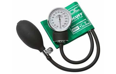 Prosphyg Child Size Green Pocket Aneroid Sphygmomanometer by American Diagnostic Corporation ADC