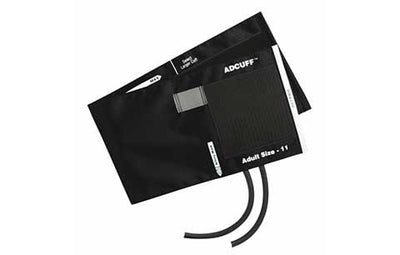 American Diagnostic Corporation ADC 845 Series Adcuff Adult Black Cuff & Bladder, 2 Tube