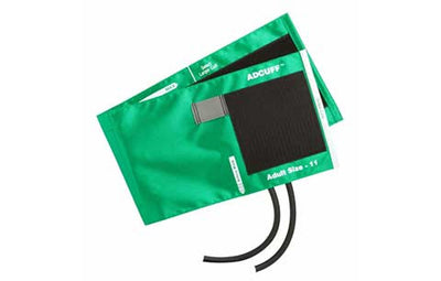 American Diagnostic Corporation ADC 845 Series Adcuff Adult Green Cuff & Bladder, 2 Tube
