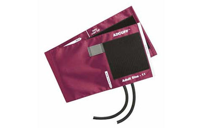 American Diagnostic Corporation ADC 845 Series Adcuff Adult Magenta Cuff & Bladder, 2 Tube