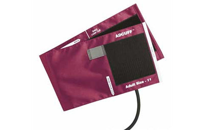 American Diagnostic Corporation ADC Adcuff 845 Series Adult Magenta Cuff & Bladder, 1 Tube