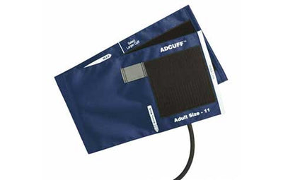 American Diagnostic Corporation ADC Adcuff 845 Series Adult Navy Cuff & Bladder, 1 Tube