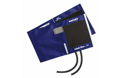 American Diagnostic Corporation ADC 845 Series Adcuff Adult Royal Blue Cuff & Bladder, 2 Tube