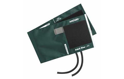 American Diagnostic Corporation ADC 845 Series Adcuff Adult Teal Cuff & Bladder, 2 Tube