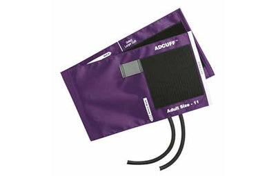 American Diagnostic Corporation ADC 845 Series Adcuff Adult Purple Cuff & Bladder, 2 Tube